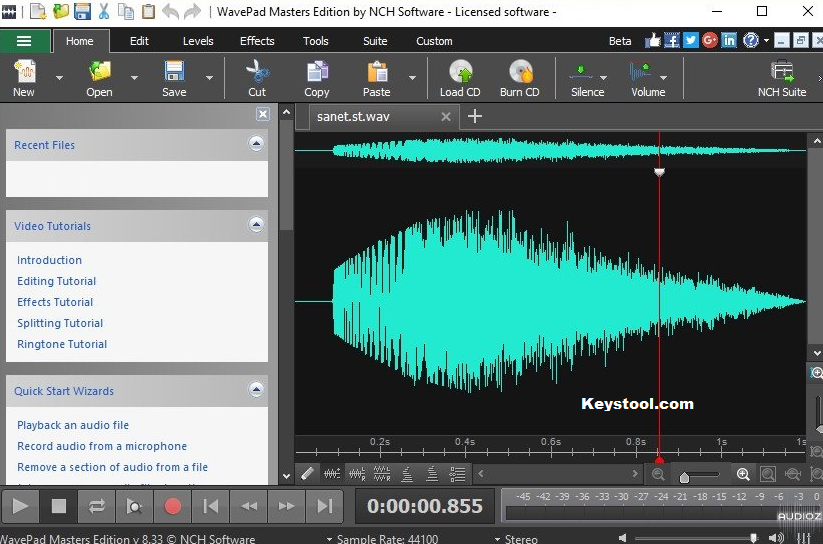 WavePad Sound Editor Key