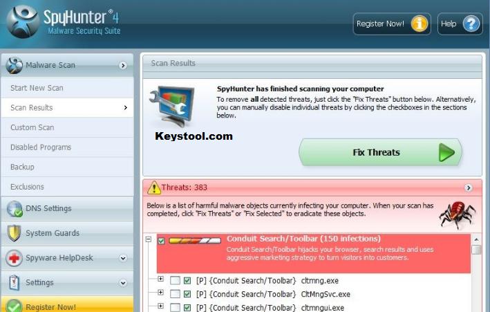 SpyHunter Key