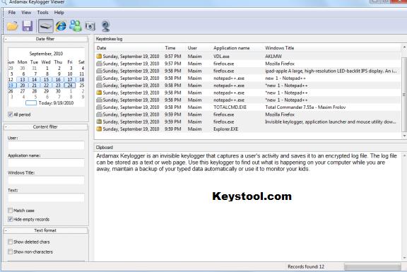 Ardamax Keylogger Key